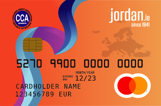 Cash loan Ireland - card